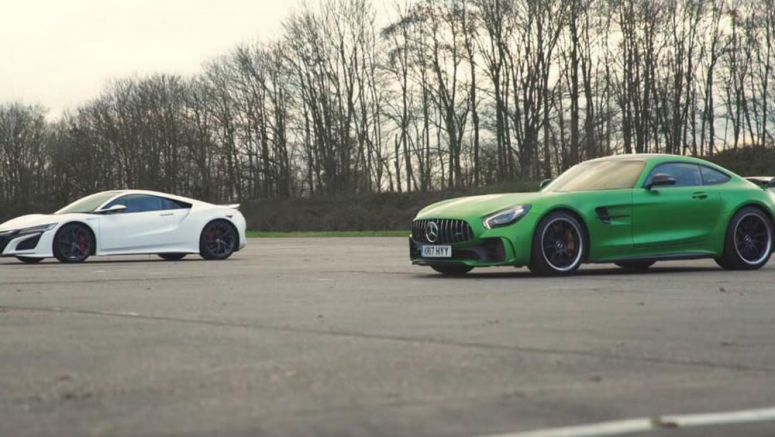 Mercedes-AMG GT R Takes On Honda NSX In ICE Vs Hybrid Fight