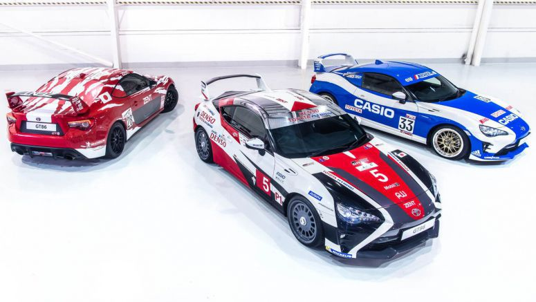 Toyota GT86 Celebrates Le Mans 24 Hours With Trio Of Heritage Liveried Models