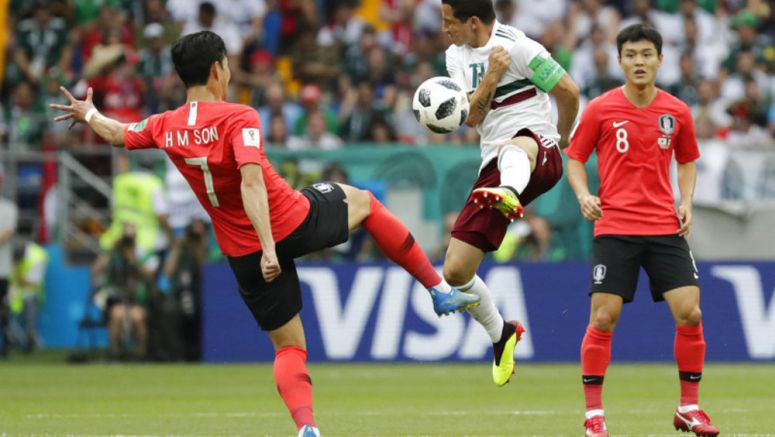 Soccer: Mexico wins again at World Cup, beats South Korea 2-1