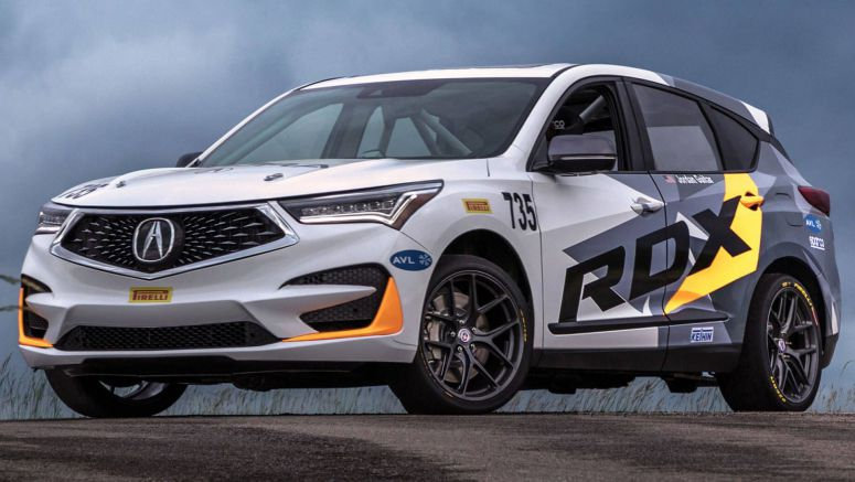 2019 Acura RDX To Tackle Pikes Peak With A 350 HP Engine