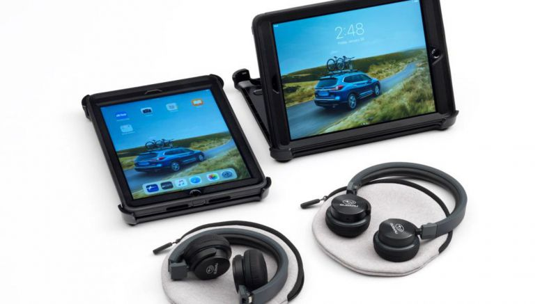 Subaru's New Entertainment System Has Two iPads For $970