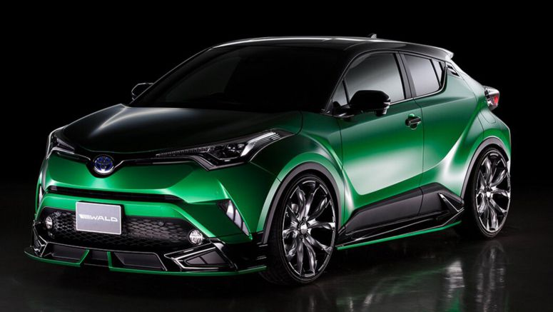 Toyota C-HR Puts On Its Menacing Face Courtesy Of Wald International