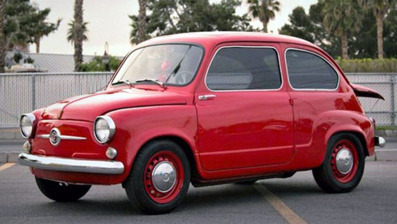 Meet The Angry Mosquito: The 1959 Fiat 600 With A Mazda Rotary Engine