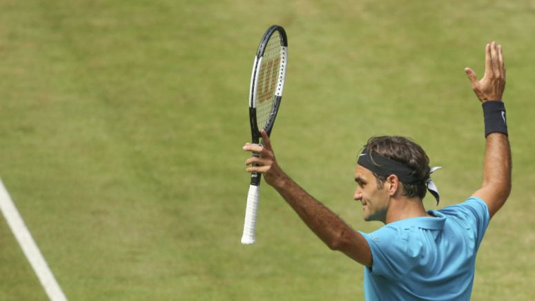 Tennis: Federer again pushed hard, advances to Halle semifinals