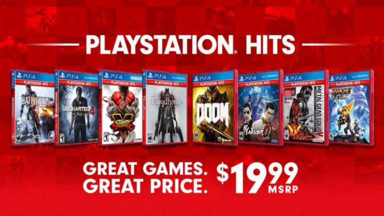 Sony PlayStation Hits Offer Discounts On Great Games