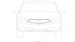2019 Acura ILX Shows Off Its New Grille In Patent Photos