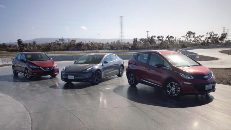 Tesla Model 3 vs Chevrolet Bolt vs Nissan Leaf: Which EV Is The Best Package?