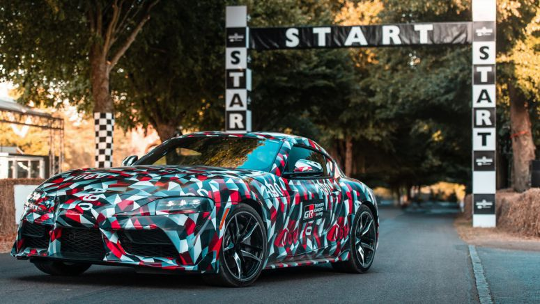 2019 Toyota Supra Makes Dynamic Debut At Goodwood