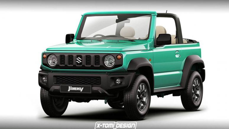 New Suzuki Jimny Cabriolet Looks Very Much Doable
