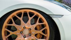 Customized Nissan GT-R Gets Adjustable Suspension, Bronze Rims
