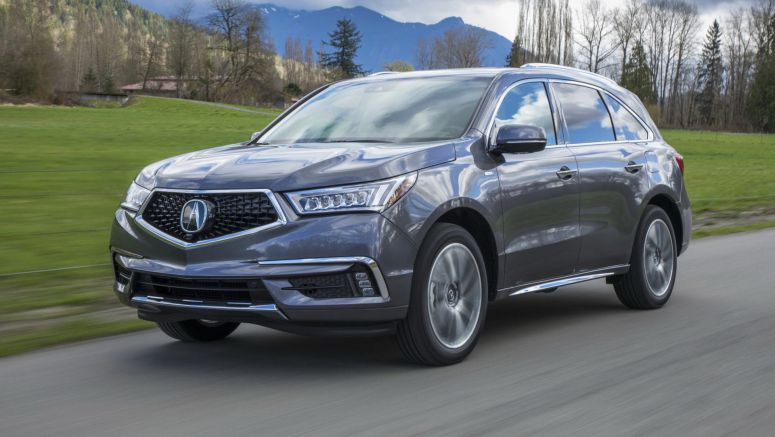 2019MY Acura MDX Sport Hybrid Gets New Color Options, Starts From $53,795