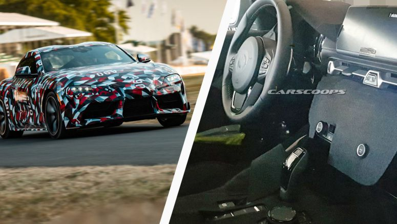2019 Toyota Supra Tackles Goodwood As Interior Is Spied