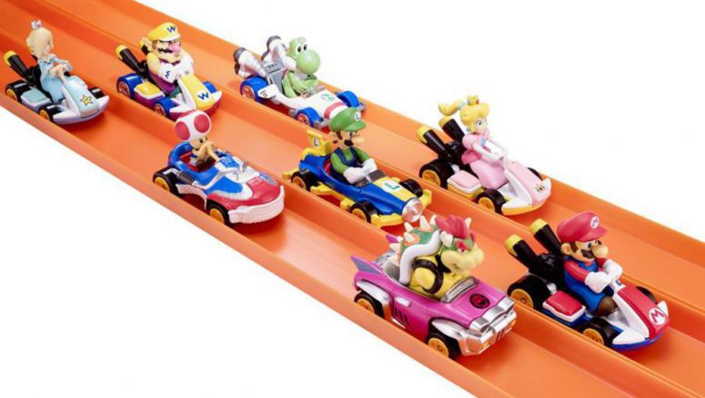 Mario Kart Hot Wheels Toys Announced For Next Year