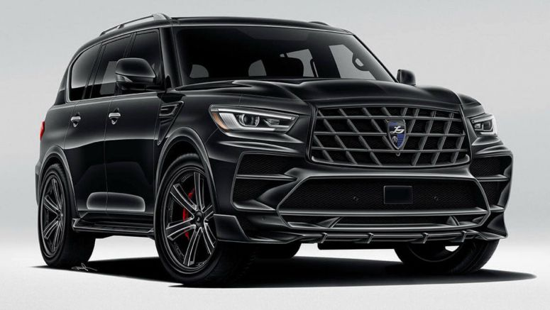 Larte Design Gives Infiniti QX80 An Aggressive Makeover