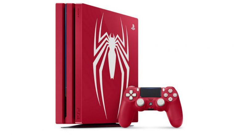 Limited Edition Spider-Man PS4 Pro Unveiled