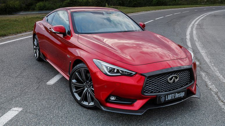 Larte Design Infuses Infiniti Q60S Coupe With Heaps Of Carbon Fiber
