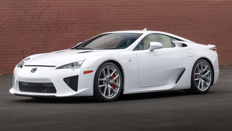 You Can Still Get A Practically New Lexus LFA With Just 120 Miles