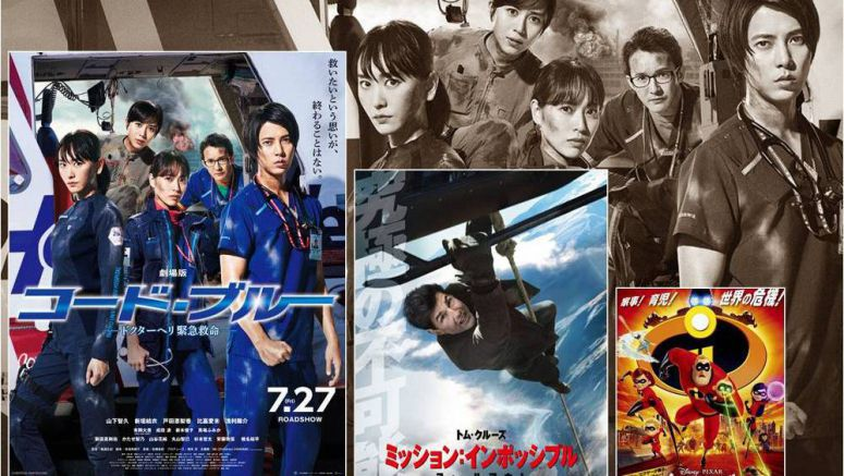 Japan Box Office Report – 8/11~8/12 2018
