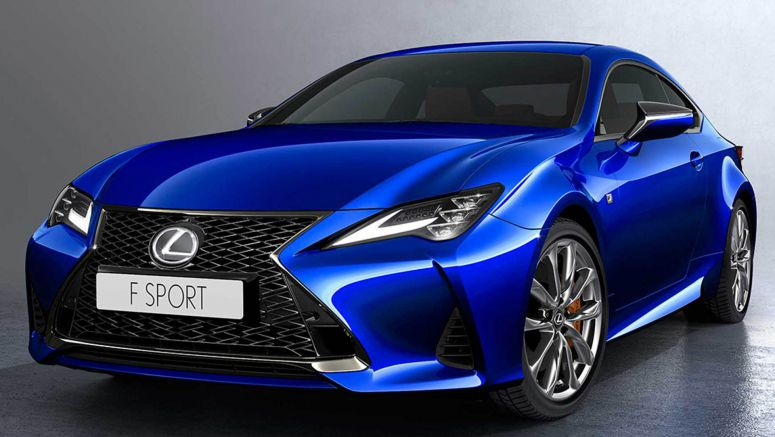 2019 Lexus RC Updated To Follow Its Big Brother's Stylistic Lead