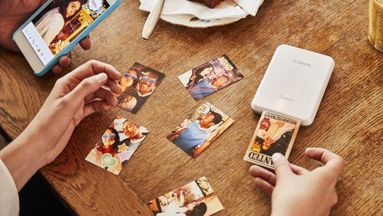 Canon Zoemini Photo Printer Announced