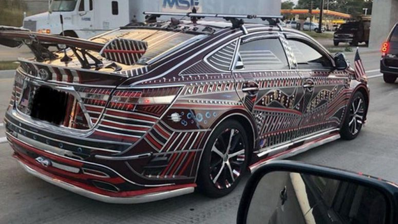 The World's Tackiest Toyota Avalon Is From A Galaxy Not Too Far Away