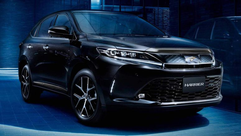 Toyota Harrier Special Editions Get