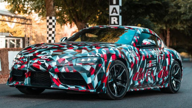 Toyota Has Developed A Manual Supra For Right-Hand Drive Markets