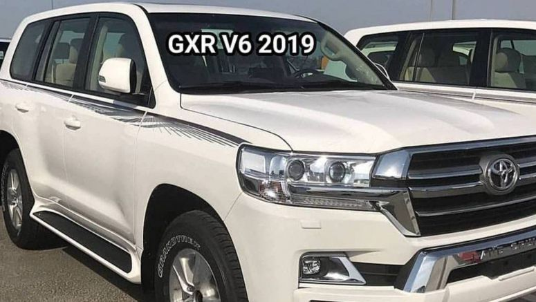 2019 Toyota Land Cruiser And 2019 Lexus LX 570 Black Edition S Spotted