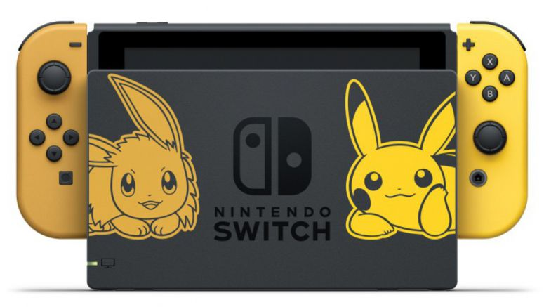 Pokémon: Let's Go Themed Nintendo Switch Unveiled