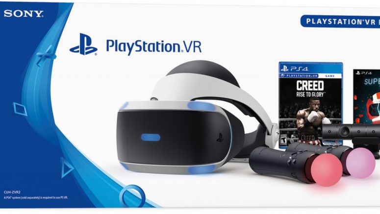 Sony's New PSVR Bundles Come With Two Games Each