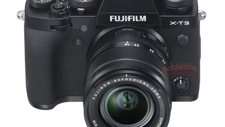 This Could Be Our First Look At The Fujifilm X-T3