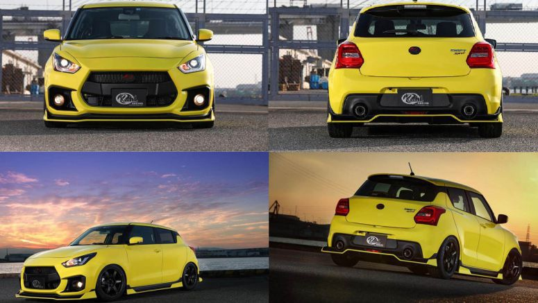 Kuhl Racing Gives Suzuki's Latest Swift Sport An Aggressive Body Kit