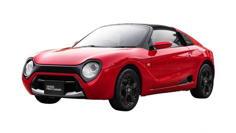 Honda Puts S660 Neo Classic Body Kit Into Production, But You Can't Have It Outside Japan