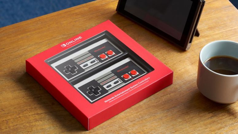 Nintendo Unveils Official NES Controllers For The Switch
