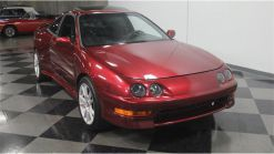 This Acura Integra Is Powered By A Mid-Mounted, Twin Turbo Caddy V8