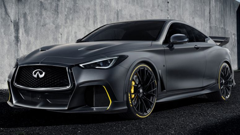 Infiniti Project Black S Concept Packs 563 Hp Rockets From 0 62 Mph In
