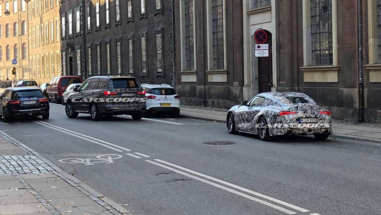 BMW X7 And Toyota Supra Spotted Hanging Out Together