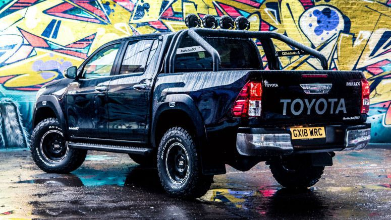 New Toyota HiLux Invincible 50 Looks Like A Modern 'Back To The Future' Movie Car