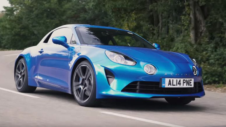 Alpine A110 Is The Little French Sports Car That Sticks It To The Germans