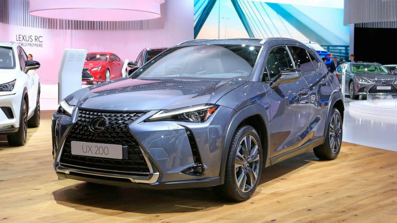 Lexus UX Ready To Go Hunt Some Small Crossovers In Europe