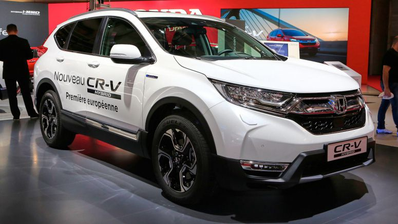 Honda CR-V Hybrid Becomes Brand's First Electrified SUV In Europe