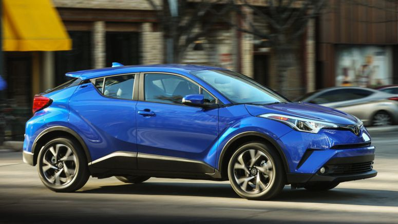 Toyota Recalls The C-HR Because The Rear Wheels Could Fall Off