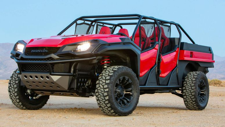 Honda's New Open Air Vehicle Concept Is A Ridgeline-Based Buggy