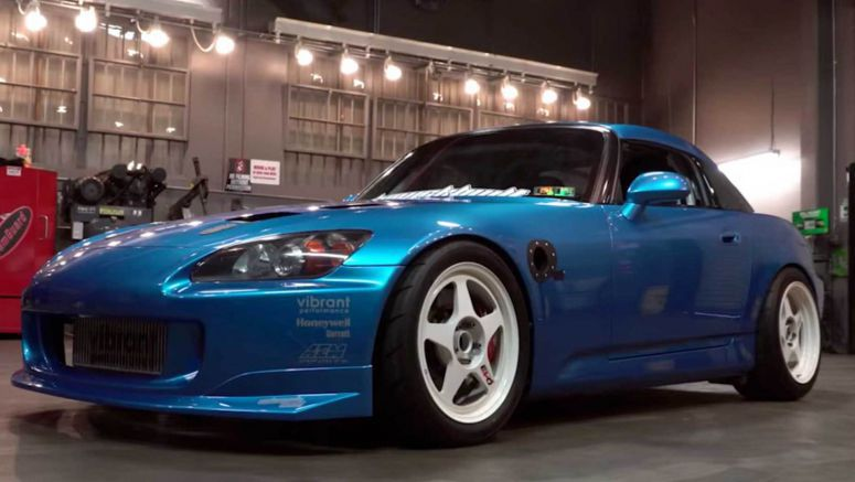 Swapping A Twin-Turbo V6 Into This Honda S2000 Was A Work Of Art