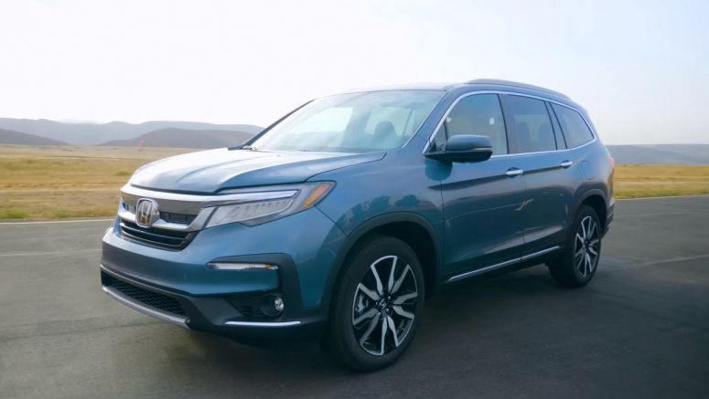 2019 Honda Pilot Vies For Top Honors In Full-Size SUV Class