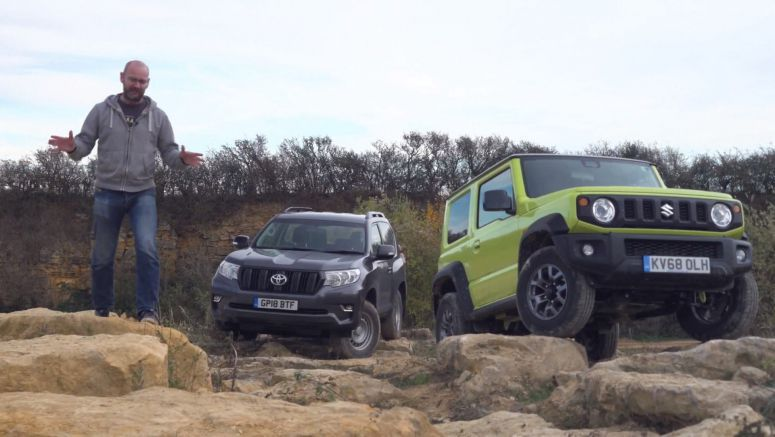 Is The 2019 Suzuki Jimny Tough Enough To Follow Toyota's Land Cruiser Off-Road?