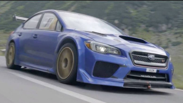 Watch Subaru's WRX STI Type RA Time Attack Special Conquer The Transfagarasan Pass