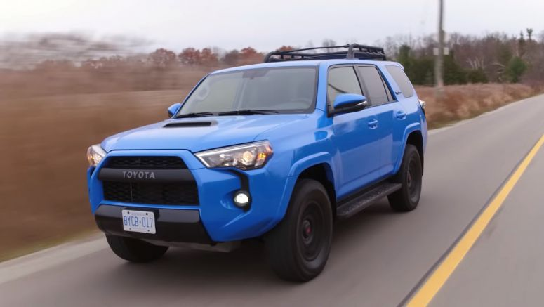 Toyota's 2019 4Runner TRD Pro Is Old-School, But In A Very Charming Way