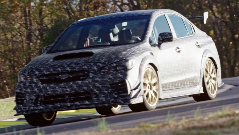 Subaru Teases Hardcore WRX STI For America, Likely The S209