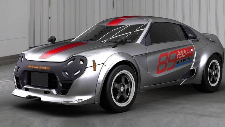 Honda S660 Modulo Neo Classic Racer Is The Retro Kei Car We Never Knew We Wanted